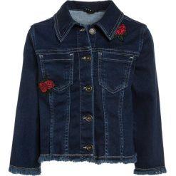 Sisley Kurtka jeansowa blue denim. Niebieskie kurtki chłopięce Sisley, z bawełny. W wyprzedaży za 179,10 zł.
