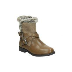 Kozaki Xti  55886. Brązowe buty zimowe damskie marki Xti. Za 219,64 zł.