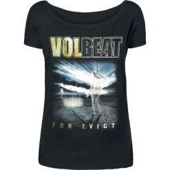 Volbeat The Bliss Koszulka damska czarny. Bluzki z odkrytymi ramionami marki Crash Bandicoot, l, z nadrukiem, ze stojącym kołnierzykiem. Za 74,90 zł.