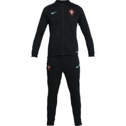 Koszulki sportowe męskie: Nike Performance FPF PORTUGAL DRY Koszulka reprezentacji black/kinetic green