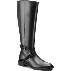 Oficerki GINO ROSSI - Nevia DKG552-G12-3V00-9900-F 99. Czarne buty zimowe damskie marki Kazar, ze skóry, na wysokim obcasie. W wyprzedaży za 399,00 zł.