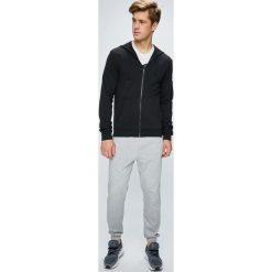 Adidas Performance - Bluza. Szare bluzy męskie rozpinane adidas Performance, m, z bawełny, z kapturem. Za 229,90 zł.