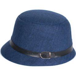 Kapelusz damski Brytyjski styl niebieski. Czarne kapelusze damskie marki BIG STAR, z gumy. Za 40,31 zł.