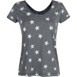 Bluzki asymetryczne: Urban Surface Stars Koszulka damska ciemnoszary (Anthracite)