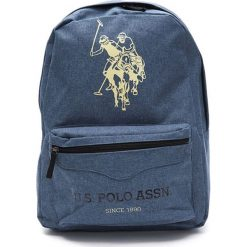 Plecaki damskie: Plecak w kolorze niebieskim - (S)34 x (W)45 x (G)16 cm
