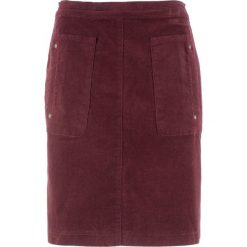 Spódnica sztruksowa bonprix czerwony klonowy. Czerwone spódniczki marki Isla Ibiza Bonita, xs, z bawełny, maxi. Za 74,99 zł.
