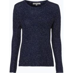 Apriori - Sweter damski z dodatkiem lnu, niebieski. Niebieskie swetry klasyczne damskie marki Apriori, l. Za 139,95 zł.