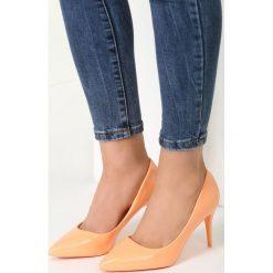 Szpilki: Pomarańczowe Szpilki Orange Pumps