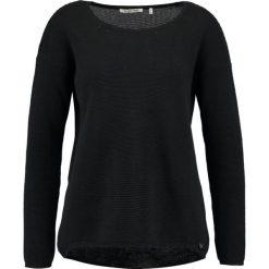 Swetry klasyczne damskie: Rich & Royal Sweter black