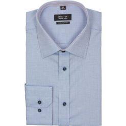Koszula bexley 2212 długi rękaw custom fit niebieski. Niebieskie koszule męskie non-iron Recman, na lato, m, z bawełny, z klasycznym kołnierzykiem, z długim rękawem. Za 49,99 zł.