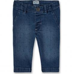 Dżinsy w kolorze niebieskim. Niebieskie jeansy dziewczęce Eat ants, ze skóry. W wyprzedaży za 72,95 zł.