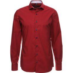 Koszule męskie na spinki: Eterna SLIM FIT KENT AUSPUTZ RIPSBAND Koszula biznesowa rot