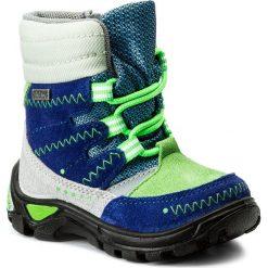 Buty zimowe chłopięce: Śniegowce BARTEK – 21579-34 Kobaltowo Szary