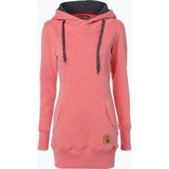 Bluzy damskie: Derbe - Damska bluza nierozpinana – Roadtrip Girls, różowy
