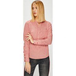 Vero Moda - Bluzka. Różowe bluzki z odkrytymi ramionami marki Vero Moda, l, z materiału, casualowe. Za 119,90 zł.