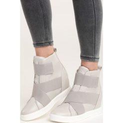Szare Sneakersy Maritta. Szare sneakersy damskie Born2be. Za 99,99 zł.