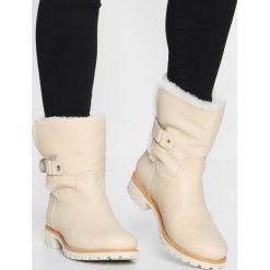 Panama Jack FELIA IGLOO TRAVELLING Botki offwhite. Białe buty zimowe damskie Panama Jack, z materiału. Za 879,00 zł.