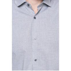 Jack & Jones - Koszula. Czarne koszule męskie na spinki marki Premium by Jack&Jones, l, z bawełny, z włoskim kołnierzykiem, z długim rękawem. W wyprzedaży za 89,90 zł.