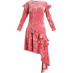 Sukienki hiszpanki: Glamorous Sukienka z dżerseju pink velvet
