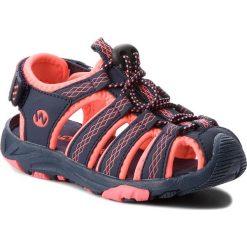 Sandały dziewczęce: Sandały WALKY – CP44-5032(III)DZ Granatowy