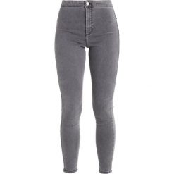 Topshop JONI NEW Jeans Skinny Fit grey. Szare jeansy damskie marki Topshop, z bawełny. Za 209,00 zł.