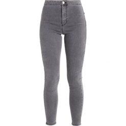 Topshop JONI NEW Jeans Skinny Fit grey. Szare rurki damskie Topshop. Za 209,00 zł.
