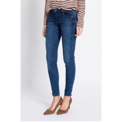 Pepe Jeans - Jeansy. Niebieskie jeansy damskie Pepe Jeans, z bawełny. W wyprzedaży za 199,90 zł.