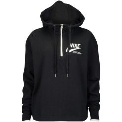BLUZA NIKE SPORTSWEAR 909147 010. Czarne bluzy damskie marki Nike. Za 219,00 zł.
