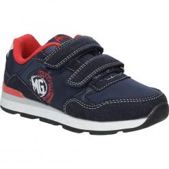 Granatowe buty sportowe na rzepy American BS-C2909. Czarne buciki niemowlęce American, na rzepy. Za 69,99 zł.