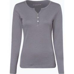Brookshire - Damska koszulka z długim rękawem, szary. Zielone t-shirty damskie marki bonprix, z kołnierzem typu henley. Za 99,95 zł.