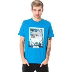 4f Koszulka męska H4L18-TSM011 niebieska r. L. Niebieskie koszulki sportowe męskie marki 4f, l. Za 36,00 zł.