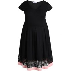 Sukienki hiszpanki: Anna Field Curvy Sukienka z dżerseju black/rose