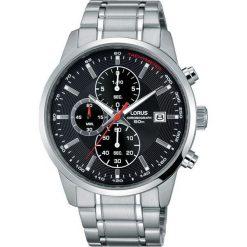 Zegarek Lorus Męski RM325DX9 Chronograf WR 50M srebrny. Szare zegarki męskie Lorus, srebrne. Za 360,99 zł.
