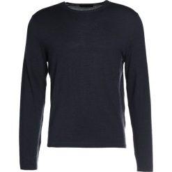 Swetry klasyczne męskie: Falke Sweter navy