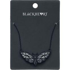 Blackheart Opal Butterfly Naszyjnik czarny. Czarne naszyjniki damskie Blackheart, sztuczne. Za 32,90 zł.
