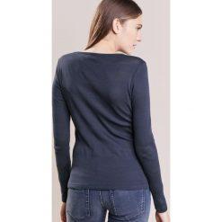 Bluzki asymetryczne: Sonia by Sonia Rykiel OPENWORK  Bluzka z długim rękawem dark blue