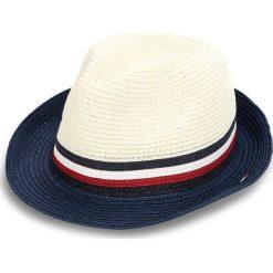 Kapelusz TOMMY HILFIGER - Th Straw Hat AM0AM03337 104. Brązowe kapelusze damskie marki TOMMY HILFIGER. Za 279,00 zł.