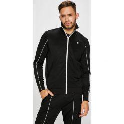 G-Star Raw - Bluza. Czarne bluzy męskie rozpinane marki G-Star RAW, l, z bawełny, bez kaptura. Za 469,90 zł.