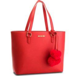 Torebka LOVE MOSCHINO - JC4322PP06KW0500  Rosso. Czerwone torebki klasyczne damskie Love Moschino, ze skóry ekologicznej. W wyprzedaży za 579,00 zł.