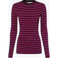 T-shirty damskie: Calvin Klein Womenswear - Damska koszulka z długim rękawem, czarny