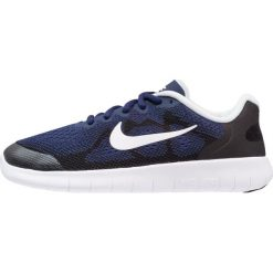 Nike Performance FREE RUN 2 Obuwie do biegania neutralne binary blue/white/black. Niebieskie buty sportowe chłopięce Nike Performance, z materiału. W wyprzedaży za 220,35 zł.