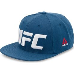 Czapka z daszkiem Reebok - Ufc Flat Peak Cap CZ9905 Bunblu. Niebieskie czapki z daszkiem męskie Reebok. W wyprzedaży za 109,00 zł.