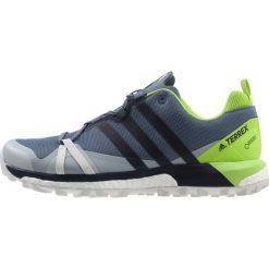 Adidas Performance TERREX AGRAVIC GTX Obuwie hikingowe dark grey. Szare buty sportowe męskie adidas Performance, z materiału, outdoorowe. W wyprzedaży za 543,20 zł.