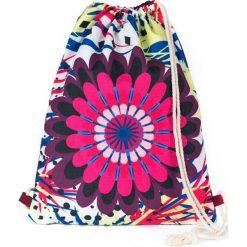 Plecaki damskie: Art of Polo Plecak Mandala biało-różowy