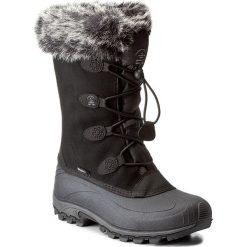 Buty zimowe damskie: Śniegowce KAMIK – Momentums Y WK2154 Black