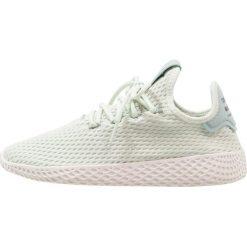 Trampki męskie: adidas Originals PW TENNIS HU Tenisówki i Trampki linen green/footwear white