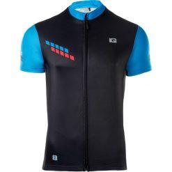 IQ Koszulka Rowerowa męska SORE BLACK/PALACE BLUE/FIERY RED r. XXL. Szare koszulki sportowe męskie marki IQ, l. Za 119,99 zł.