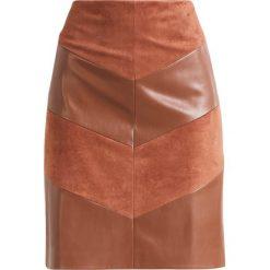 Spódniczki: comma Spódnica ołówkowa  cognac