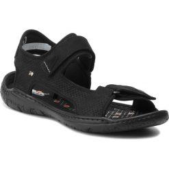 Sandały NIK - 06-0232-02-8-02-03 Czarny. Czarne sandały męskie skórzane Nik. W wyprzedaży za 159,00 zł.