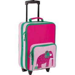 """Walizki: Walizka """"4Kids Elephant"""" w kolorze różowo-zielonym – 29,5 x 46 x 19,5 cm"""